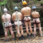 Nude Canyoning: the Empress has no clothes