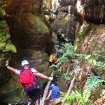Glen Davis canyoning