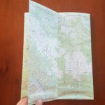 Refolding topographic maps to make them easier to use