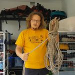 Rope management using a Butterfly Coil
