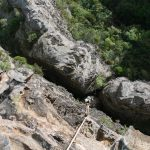 Afternoon abseils: Devils Hole, Africa Wall, and Kilimanjaro