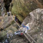 Advanced ropework: Fiddlestick retrievable abseiling anchor