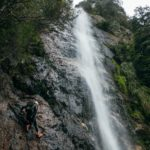 Exploratory descent of Montezuma Falls and Avon Creek Canyon (NW Tasmania)